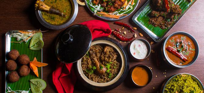 May contain: examples of dishes served in the Masala Cafe restaurant, interior or exterior of Masala Cafe restaurant